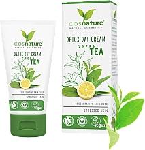 Парфюмерия и Козметика Дневен детокс крем за лице със зелен чай - Cosnature Detox Day Cream Organic Green Tea