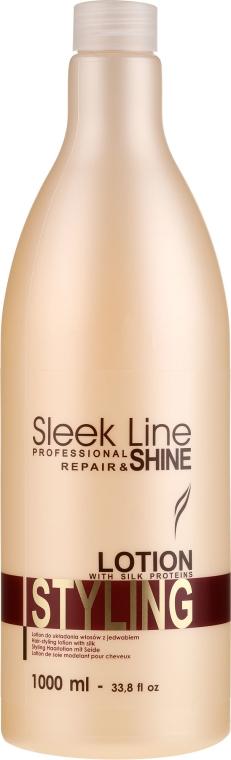 Лосион с коприна за оформяне на косата - Stapiz Sleek Line Styling Lotion