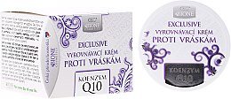 Парфюми, Парфюмерия, козметика Крем за лице против бръчки - Bione Cosmetics Exclusive Organic Smoothing Anti-Wrinkle Cream With Q10