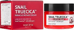 Парфюмерия и Козметика Възстановяващ крем за лице със слуз от охлюв и церамиди - Some By Mi Snail Truecica Miracle Repair Cream