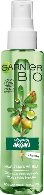 Подхранващ спрей за лице с арганово масло - Garnier Bio Rich Argan Nourishing Mist
