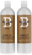Парфюмерия и Козметика Комплект шампоан и балсам - Tigi Bed Head Clean Up (sh/750ml + cond/750ml)