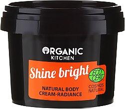 """Парфюмерия и Козметика Натурален крем за тяло """"Сияние"""" - Organic Shop Organic Kitchen Cream"""