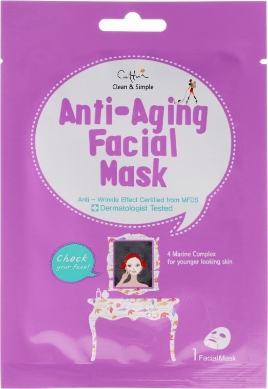 Маска за лице против стареене от плат - Cettua Anti-Aging..