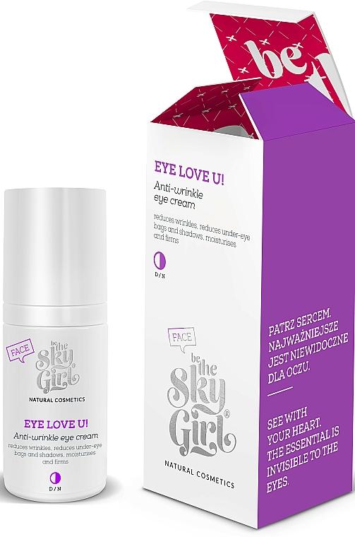 Околоочен крем против бръчки - Be the Sky Girl Eye Love U! Eye Cream — снимка N1