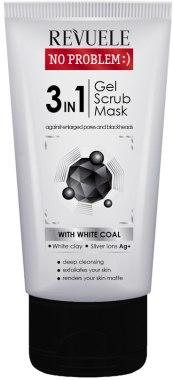 Продукт за почистване на кожата 3 в 1 - Revuele No Problem Gel Scrub Mask
