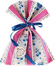 Парфюмерия и Козметика Ароматна торбичка, розово райе - Essencias De Portugal Tradition Charm Air Freshener