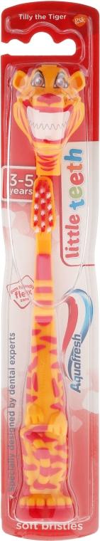 Детска четка за зъби 3-5 години, Tilly the Tiger - Aquafresh Little Teeth Soft — снимка N1