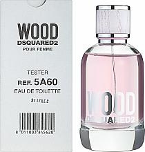 Dsquared2 Wood Pour Femme - Тоалетна вода (тестер с капачка) — снимка N2