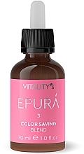 Парфюмерия и Козметика Концентрат за запазване на цвета на боядисаната коса - Vitality's Epura Color Saving Blend