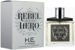 Парфюмерия и Козметика Mango Rebel Hero - Тоалетна вода (тестер с капачка)