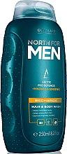 Парфюми, Парфюмерия, козметика Тонизиращ шампоан за коса и тяло - Oriflame North For Men Recharge Hair&Body Wash