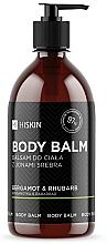Парфюмерия и Козметика Балсам за тяло със сребърни йони, бергамот и ревен - HiSkin Bergamot & Rhubarb Body Balm