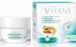 Парфюми, Парфюмерия, козметика Матиращ и нормализиращ крем за лице - Vitea Mattifying And Normalising Face Cream