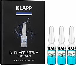Парфюмерия и Козметика Двуфазен кислороден серум за лице - Klapp Bi-Phase Serum Oxygen