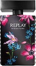 Парфюмерия и Козметика Replay Signature For Woman Replay - Парфюмна вода