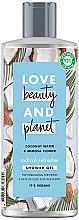 Парфюмерия и Козметика Душ гел с кокос и мимоза - Love Beauty&Planet Coconut Water & Mimosa Flower Shower Gel