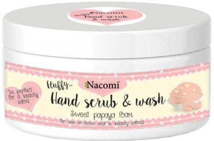 Скраб за ръце с аромат на папая - Nacomi Sweet Papaya Hand Scrub & Wash — снимка N1