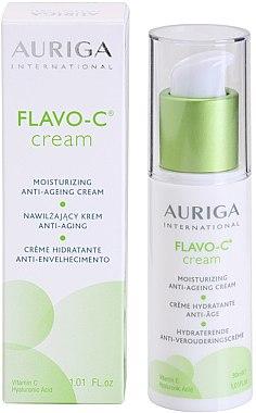Хидратиращ крем против бръчки - Auriga Flavo-C Moisturizing Anti-Age Cream — снимка N1