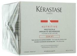 Парфюми, Парфюмерия, козметика Грижа №1 против суха коса - Kerastase Protocole Immunite Secheresse Soin №1