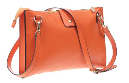 Сумка для женщин, оранжевая - Benetton — снимка N2