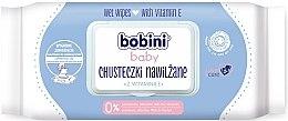 Парфюми, Парфюмерия, козметика Мокри кърпички с витамин E - Bobini