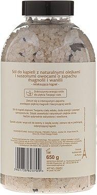 Соли за вана с аромат на магнолия и ванилия - Nature de Marseille — снимка N2