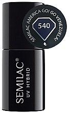 Парфюмерия и Козметика Хибриден лак за нокти - Semilac UV Hybrid America Go!