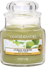 """Парфюмерия и Козметика Ароматна свещ """"Кубинско Мохито"""" - Yankee Candle Cuban Mojito"""