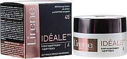 Парфюми, Парфюмерия, козметика Нощен крем за лице - Lirene Ideale Pro 45+
