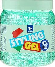 Парфюмерия и Козметика Гел за моделиране на косата - Tenex Styling Wetlook Green Gel