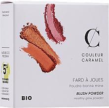 Парфюмерия и Козметика Компактен руж за лице - Couleur Caramel Blush Powder