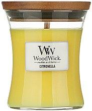Парфюмерия и Козметика Ароматна свещ в чаша - WoodWick Citronella Medium Candle