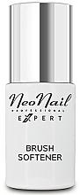 Парфюмерия и Козметика Течност за почистване на четки за нокти с омекотяващ ефект - Neonail Professional Brush Softener