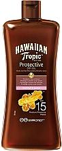 Парфюмерия и Козметика Слънцезащитно сухо масло SPF15 - Hawaiian Tropic Protective Oil SPF 15