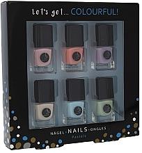 Парфюми, Парфюмерия, козметика Комплект лакове за нокти - Cosmetic 2K Let's Get Colourful! Pastels Nail Polish (nail/laquer/6х5ml)