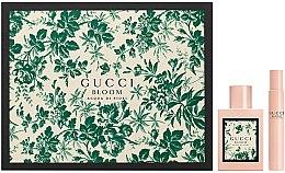 Парфюми, Парфюмерия, козметика Gucci Bloom Acqua di Fiori - Комплект тоалетна вода (edt/50ml + edt/7.4ml)