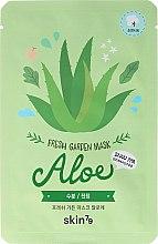 Парфюмерия и Козметика Маска за лице от плат - Skin79 Fresh Garden Mask Aloe
