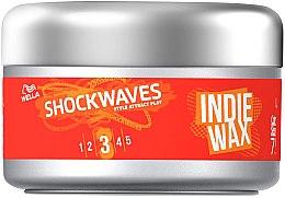 Парфюмерия и Козметика Моделираща вакса за коса - Wella ShockWaves Indie Wax
