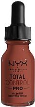 Парфюмерия и Козметика Основа за промяна на оттенъка на козметични продукти - NYX Professional Total Hue Shifter Drop Foundation