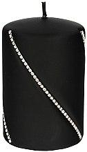 Парфюми, Парфюмерия, козметика Декоративна свещ, черна, 10х7см - Artman Bolero Mat