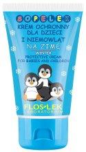 Парфюми, Парфюмерия, козметика Защитен крем за деца и бебета, зима - Floslek Sopelek Winter Protective Cream