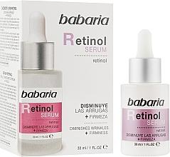 Парфюмерия и Козметика Лифтинг серум за лице с ретинол - Babaria Retinol Serum