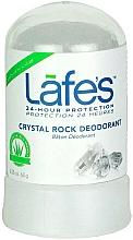 Парфюмерия и Козметика Кристален дезодорант - Lafe's Crystal Rock Deodorant