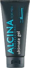 Парфюмерия и Козметика Гел за коса с много силна фиксация - Alcina For Men Hair Styling Ultimate Gel