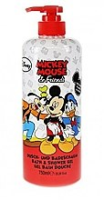 Парфюми, Парфюмерия, козметика Душ гел за тяло - Disney's Mickey Mouse & Friends Bath & Shower Gel