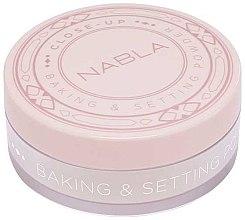 Парфюми, Парфюмерия, козметика Насипна пудра - Nabla Close-Up Baking Setting Powder