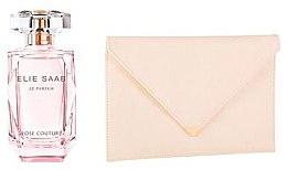 Парфюми, Парфюмерия, козметика Elie Saab Le Parfum Rose Couture - Комплект (edt/50ml + bag)