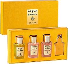 Парфюмерия и Козметика Acqua Di Parma Nobile - Комплект (парф. вода/3x20ml + аксесоар/1бр.)