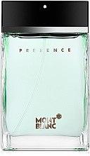 Парфюмерия и Козметика Montblanc Presence - Тоалетна вода (тестер с капачка)